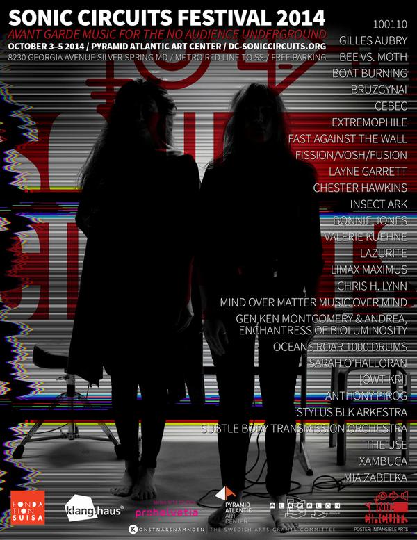 flyer - Sonic Circuits 2014